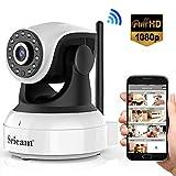 Sricam Cámara IP 1080P, Cámara Vigilancia WiFi Interior Inalámbrico, con...