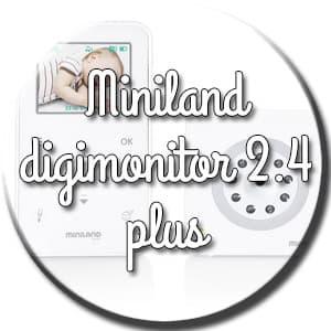 miniland digimonitor 2.4 plus